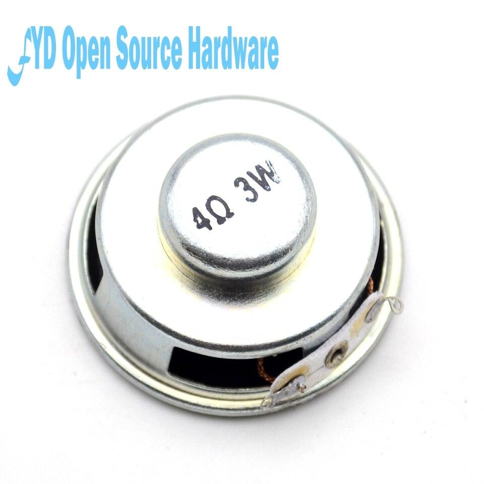2pcs 18X50MM 4R 3W speaker buzzer