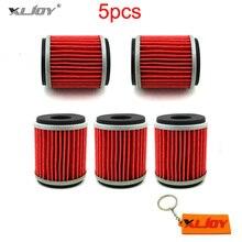 5x 오일 필터 Yamaha XT250 YZ250 YZ250F YZ450F WR250F WR450F 2009 2010 2011 2012 2013