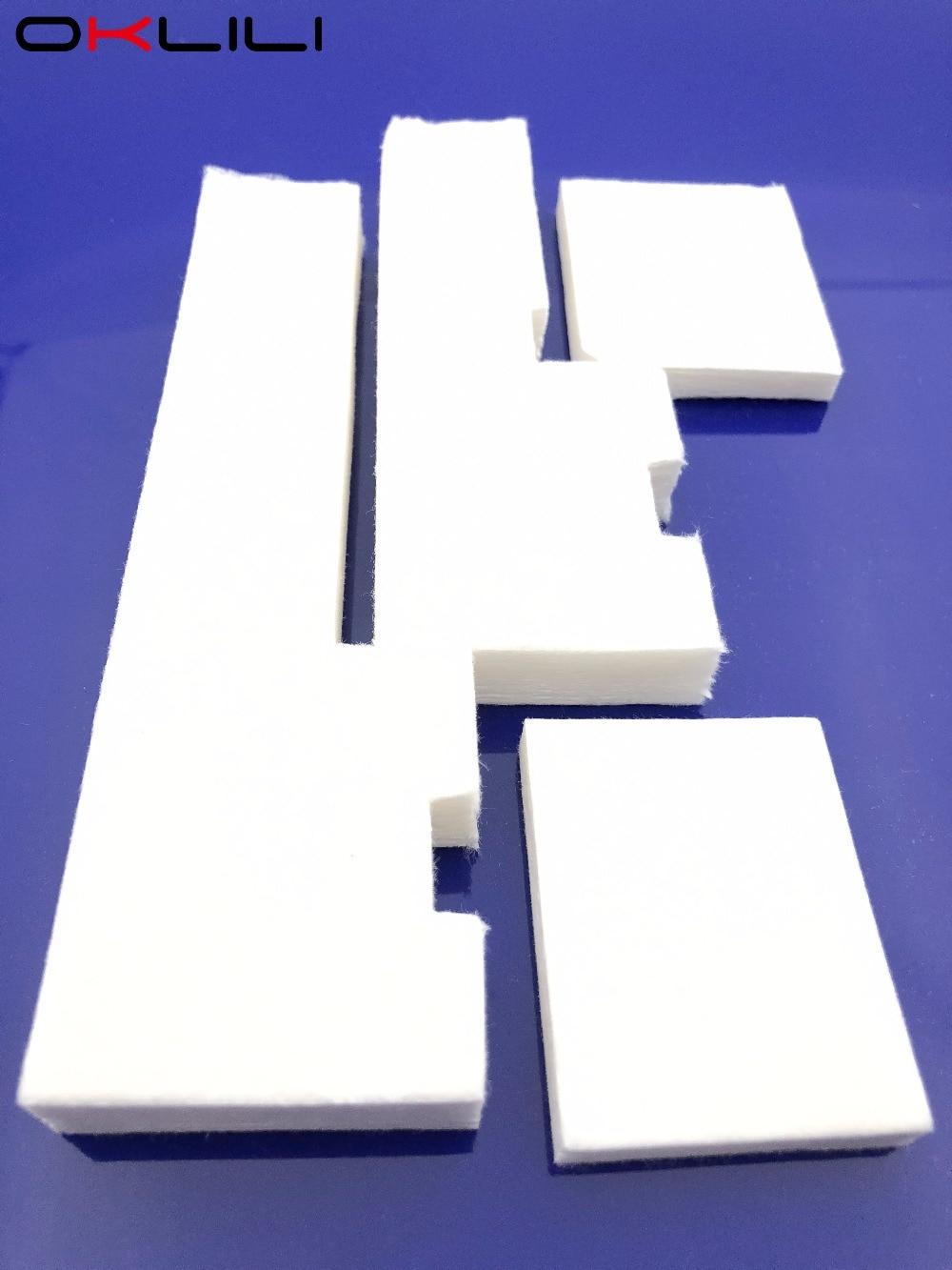1 комплект х Губка для резервуара для отработанных чернил для Epson L300 L301 L303 L310 L350 L351 L353 L358 L355 L111 L110 L210 L211 ME101 ME303 ME401