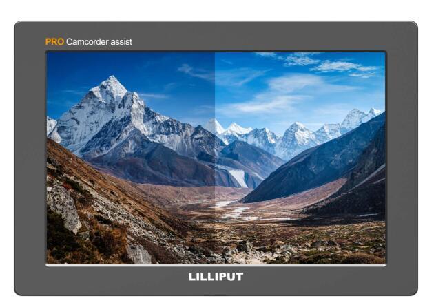 Lilliput Q7 PRO 3DLUT HDR 7 дюймов IPS Full HD 1920x1200 на камере полевой монитор металлический корпус