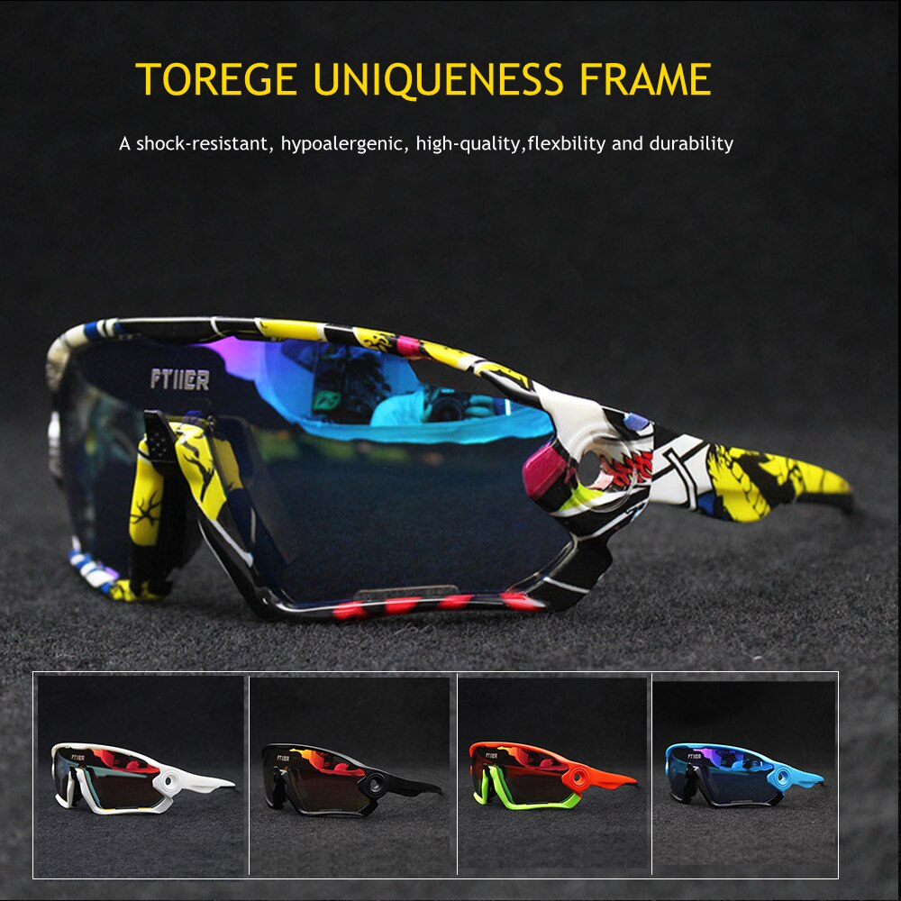 Promoción, gafas de ciclismo UV400, gafas de sol para bicicleta, deportes al aire libre, gafas para ciclismo, gafas para pescar, senderismo, gafas de sol