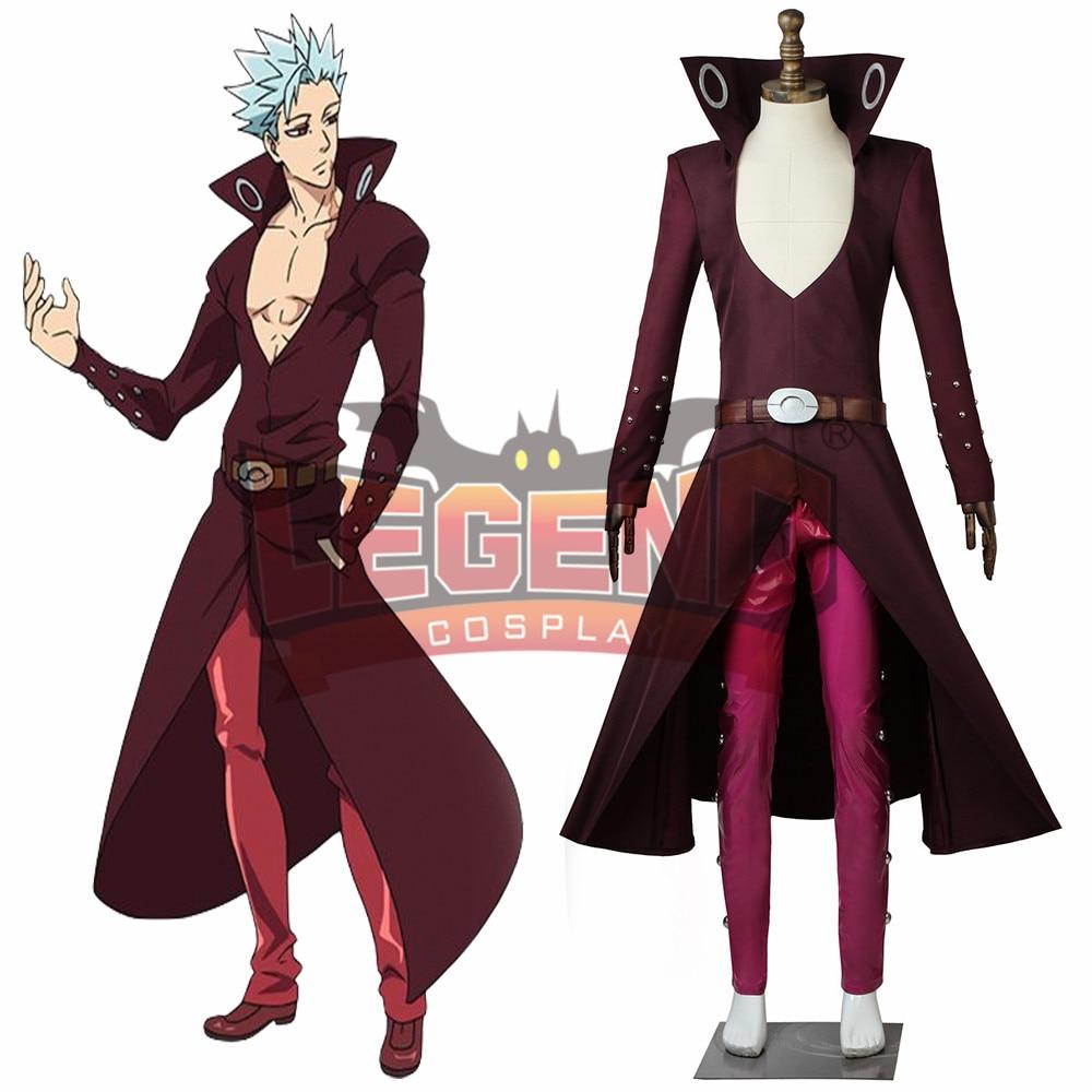 Seven deadly sins Revival Of The Commandments Nanatsu No Taizai 2  Ban Cosplay Foxs Sin of Greed Costume adult outfit