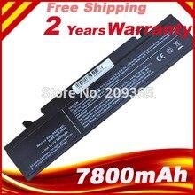 7800 mAh batterie dordinateur portable Pour Samsung AA-PB9NC5B AA-PB9NC6B R518 R519 R520 R522 R540 R580 R610 R620 R700 R425 R430