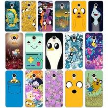 02D Adventure Time Leuke Beemo Bmo Jake Finn Bubbel Hard Cover Case Voor Meizu M2 M3S M3 M3S M5S Mini m3 Note M5 M6 M6 Note U10 U20