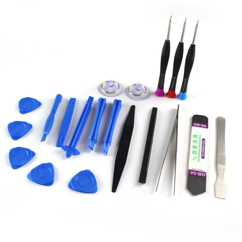 1 Набор 20 в 1 Набор инструментов для ремонта мобильных телефонов Spudger Pry Набор отверток для IPhone X 8 7 6S 6 Plus