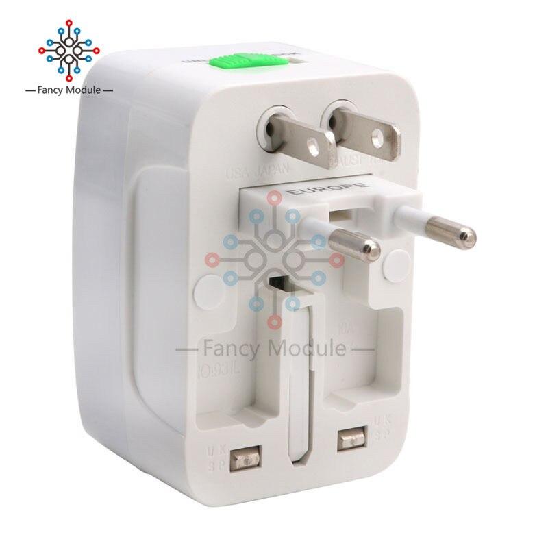 Venta caliente BINMER alta calidad regalos EU AU UK US a Universal viaje AC enchufe convertidor adaptador hembra
