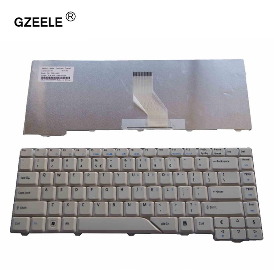 GZEELE teclado para Acer Aspire 4210, 4220, 4520, 4920, 5220, 5310, 5520, 5710, 5720, 5910, 5920, 5930, 6920, 6935, 6935G nos teclado en inglés