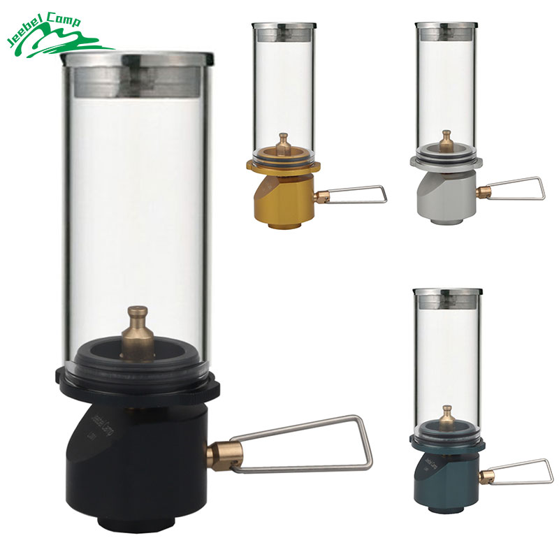 JBL-L001 Gas Camping Lantern Camp Equipment Gas Candle Lights Lamp for Ourdoor Tent Hiking Emergencies