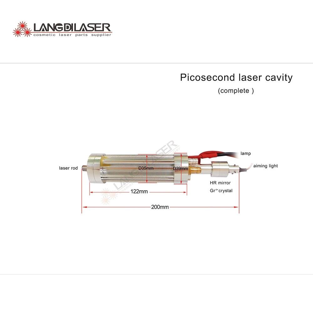 picosecond laser hand-piece cavity , ND:yag laser handle cavity , laser tattoo removal hand-piece cavity