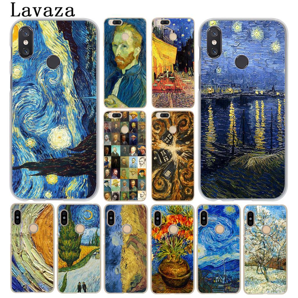 Чехол для телефона Lavaza Ван Гог ТАРДИС для Xiaomi MI 10 9 9T CC9 CC9E A3 Pro 8 SE A2 Lite A1 pocophone f1 6 Mi10