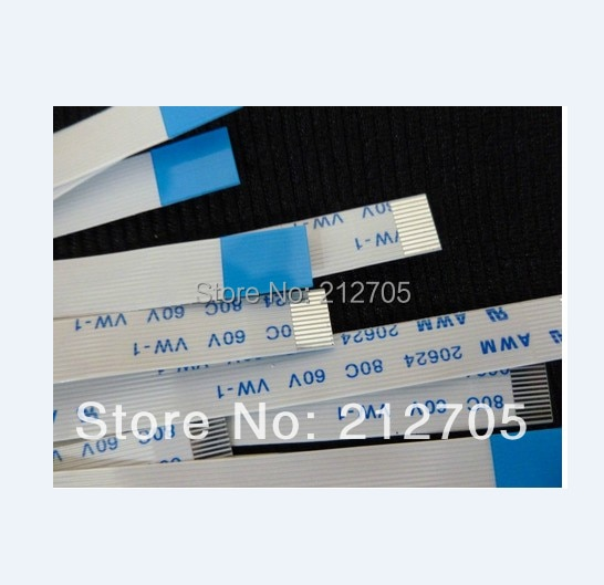 Free Shipping FFC 1.0pitch 9pin 500mm long type B Flexible Flat Cable For TTL LCD DVD Computer Printer AWM 80C 60V VW-1V