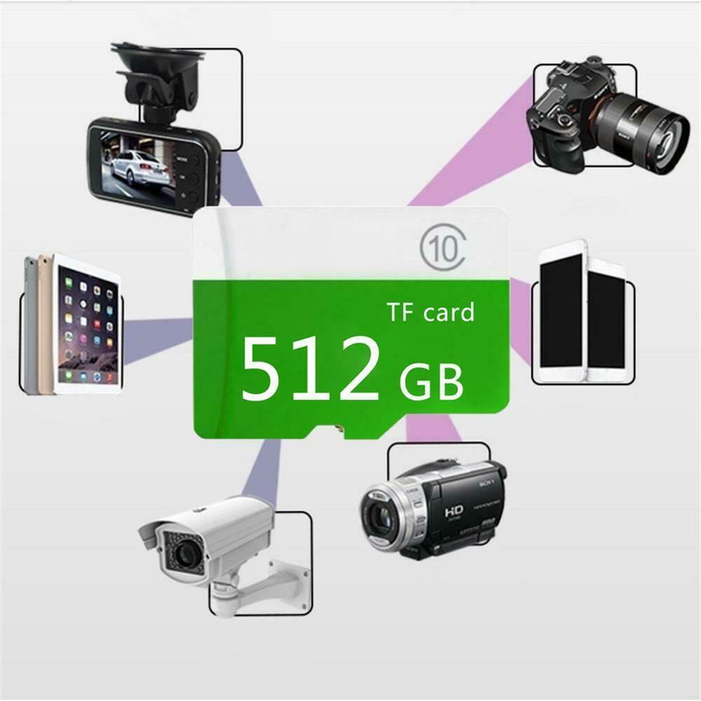 Capacidad tarjeta de memoria micro-sd 8GB 16GB 32GB 64GB 128GB 256GB 512GB Clase 10 + sd-tf para móvil/PC CH tarjeta Micro SD