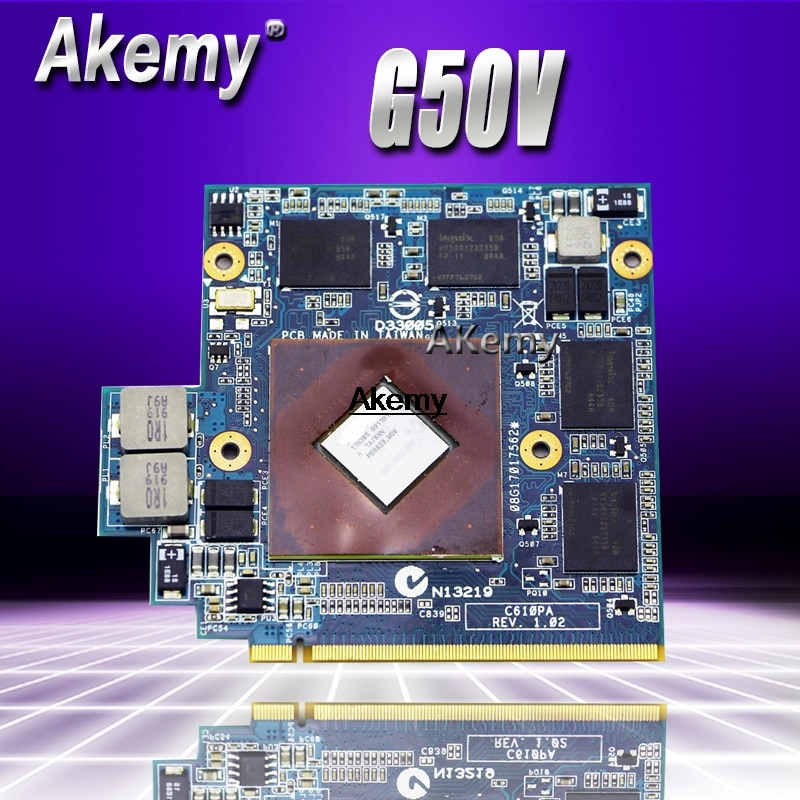 9800M GS 512MB Video tarjeta para ASUS G50 G50V C610PA REV.1.02 / 08G17017562