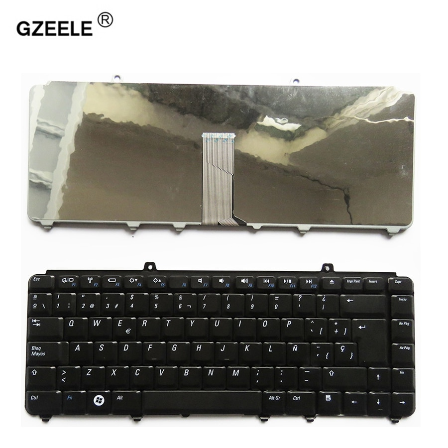 GZEELE новая SP Клавиатура для Dell inspiron 1400 1520 1521 1525 1526 1540 1545 1420 1500 Испанский Teclado ноутбук/ноутбук QWERTY