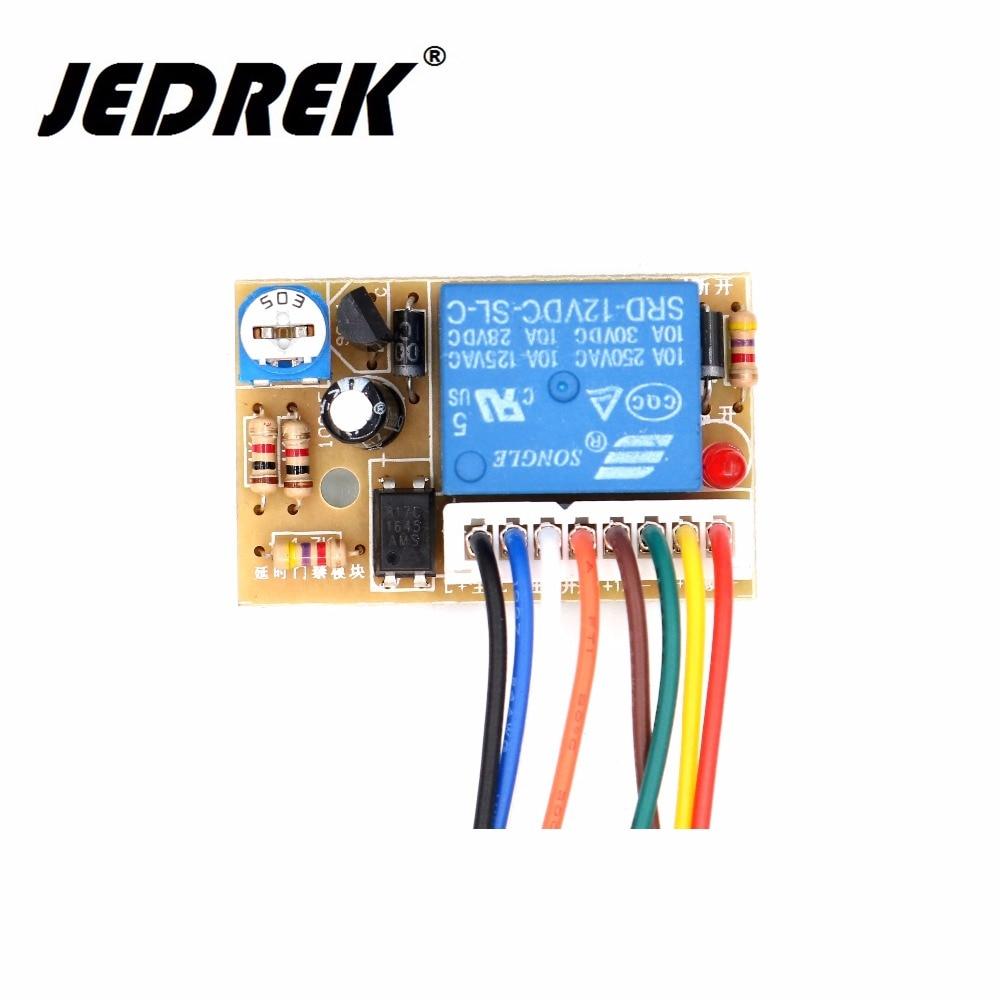 Entrance guard / time delay module / power supply module / building controller module / delay circuit board