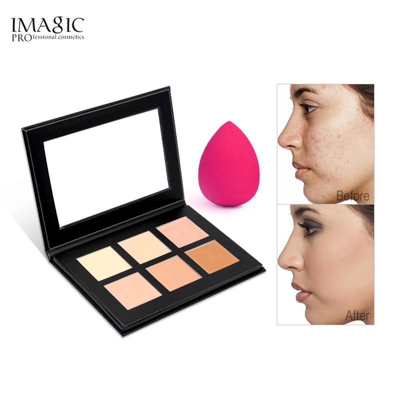 Крем imagic Contour Palette Kit Pro, консилер палитра для макияжа консилер праймер для лица для всех типов кожи