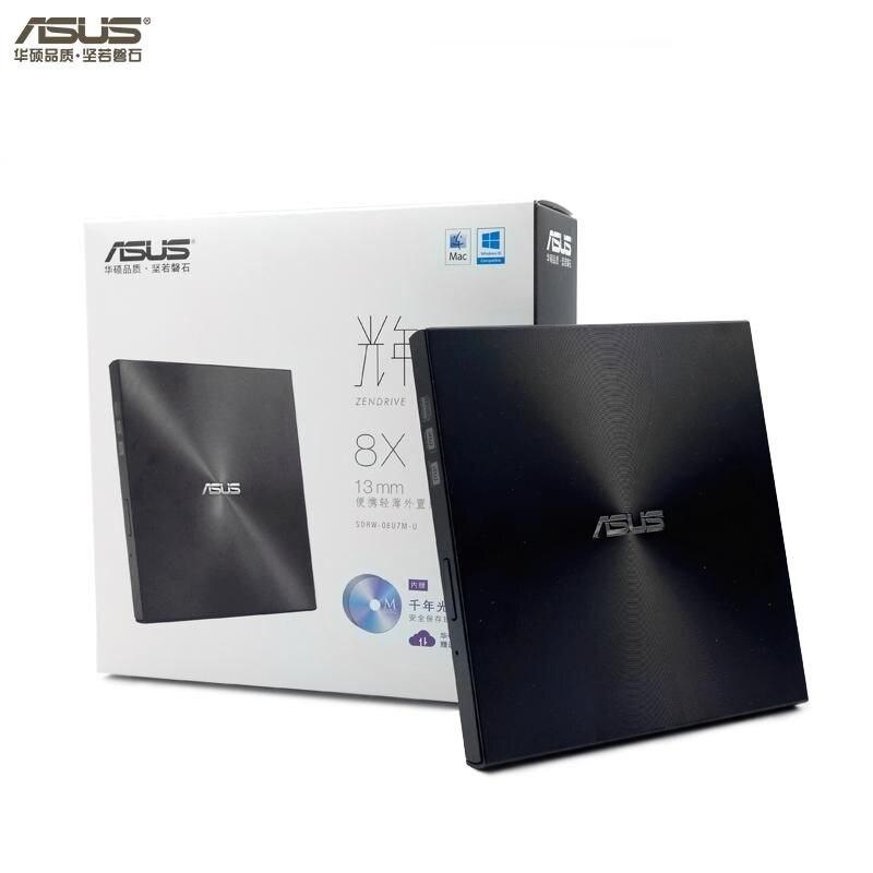 Full new,original ASUS SDRW-08U7M-U 8X external CD / DVD burner USB laptop mobile drive