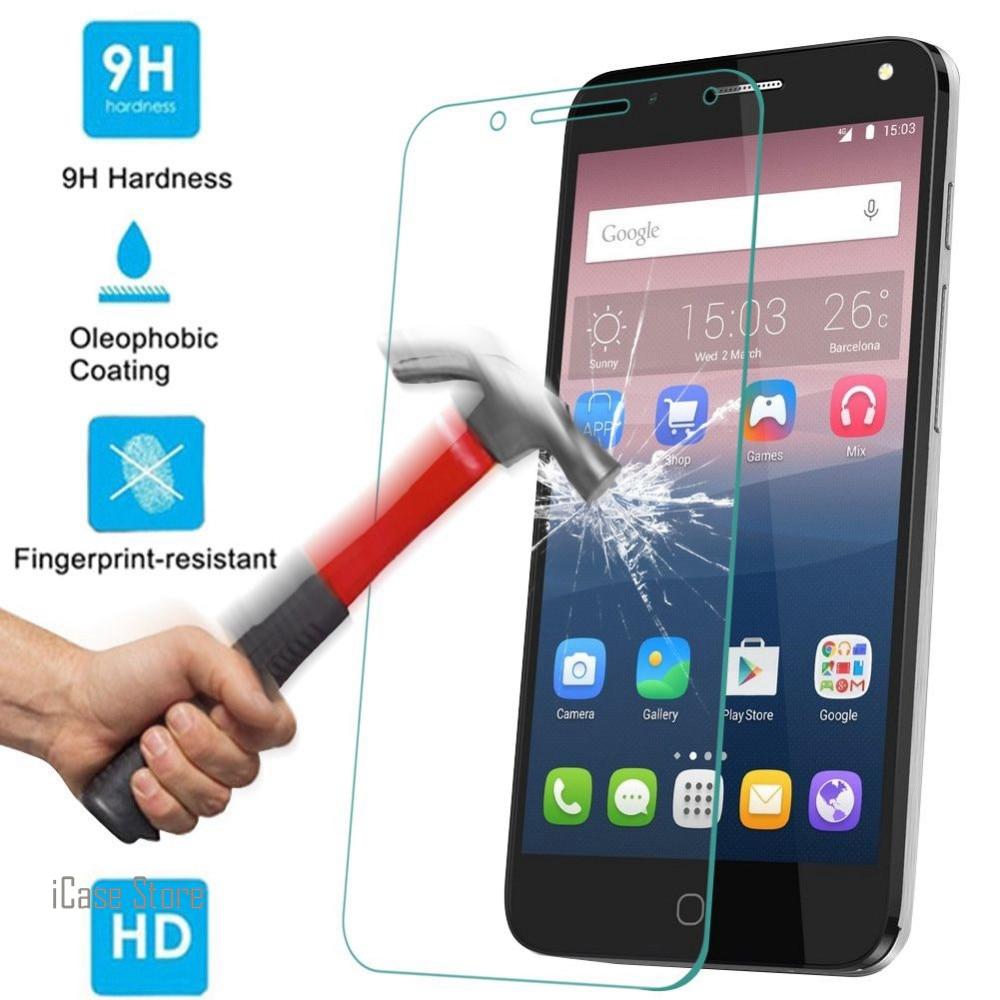 Protector de pantalla de vidrio templado 9 H para Alcatel idol 3...