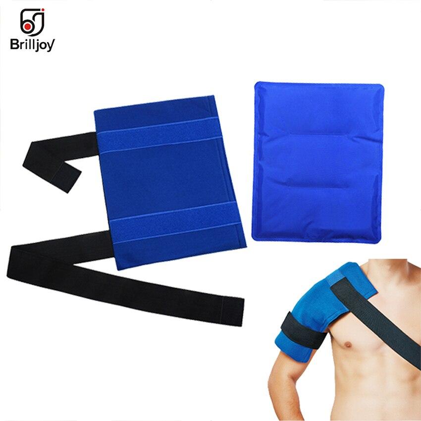 Bolsa de hielo reutilizable para terapia de frío caliente, alivio del dolor multifunción, envoltura para hombro y cintura Músculo de la espalda, relajación y cuidado de la salud