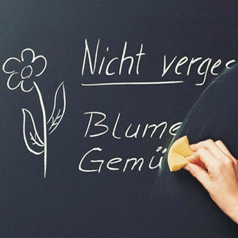 Pegatinas de vinilo extraíbles para pizarra, 45x200cm, multifunción, borrable, para aprendizaje, escuela y oficina