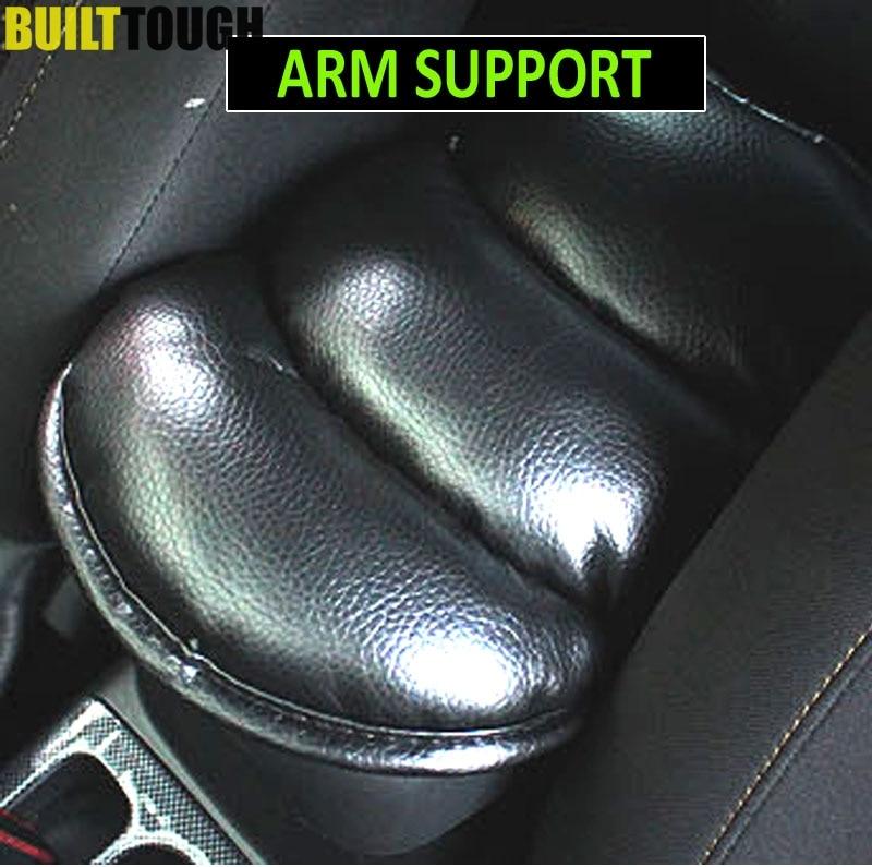 Reposabrazos de coche, almohadilla de soporte para Kia Rio Cerato Soul Forte Hyundai Solaris 2 3 Ford Focus Cruze Aveo Juke Accesorios