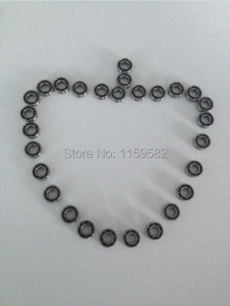 Germany KAVO handpiece bearing 400000RPM Ceramic balls 3.175X6.35X2.38MM 1/8X1/4X0.0937inch SR144 1001 SR144TLK