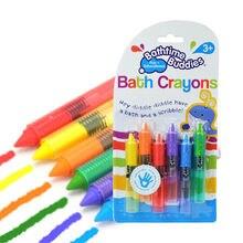 Sûr bébé enfants bain Crayons dessin jouet bain jouer début jouets éducatifs juguetes brinquedos jouet de bain