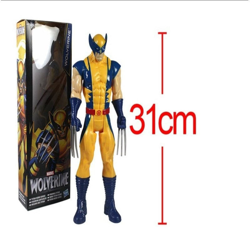 2020 New Free Shipping Marvel Super Hero X-men Wolverine PVC Action Figure Collectible Toy 1231CM