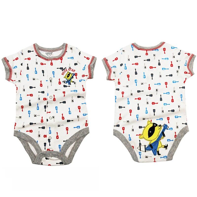 2020 verão bebê recém-nascido bodysuits curto sleevele meninos meninas roupas o-pescoço bebê macacão de algodão bebê conjuntos infantis 6-24 m