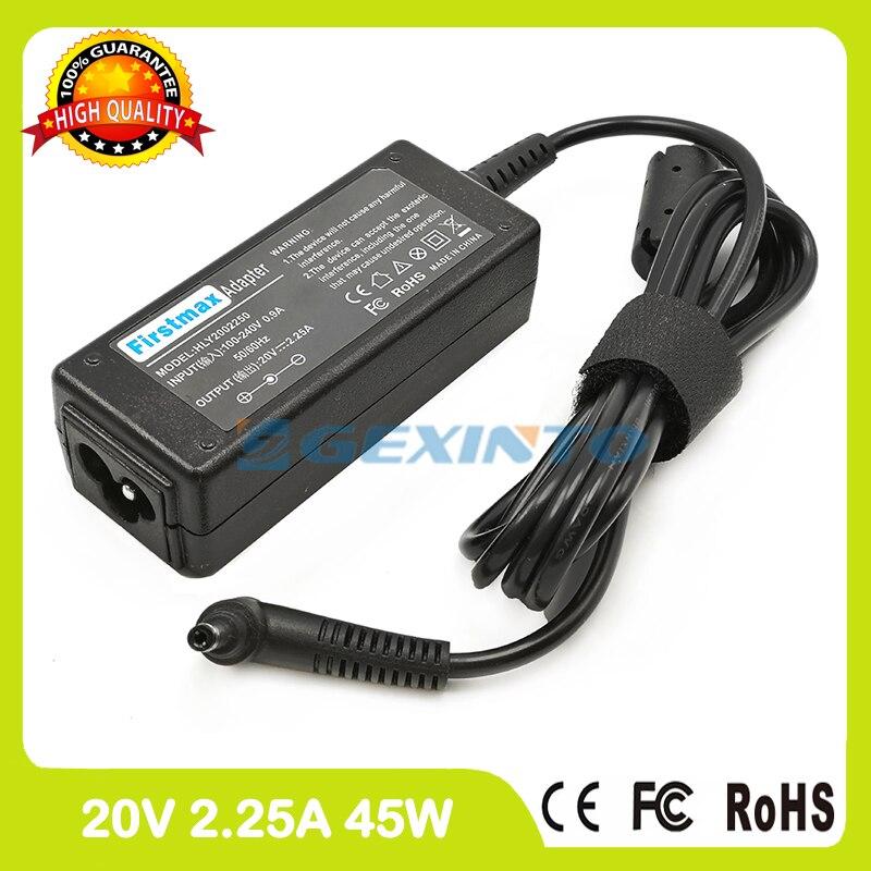 Adaptador de corriente ac 20V 2.25A 45W cargador de portátil para Lenovo Yoga 510-15IKB 510-15ISK 520-14IKB 520-15IKB 710-11ISK 710-14AST