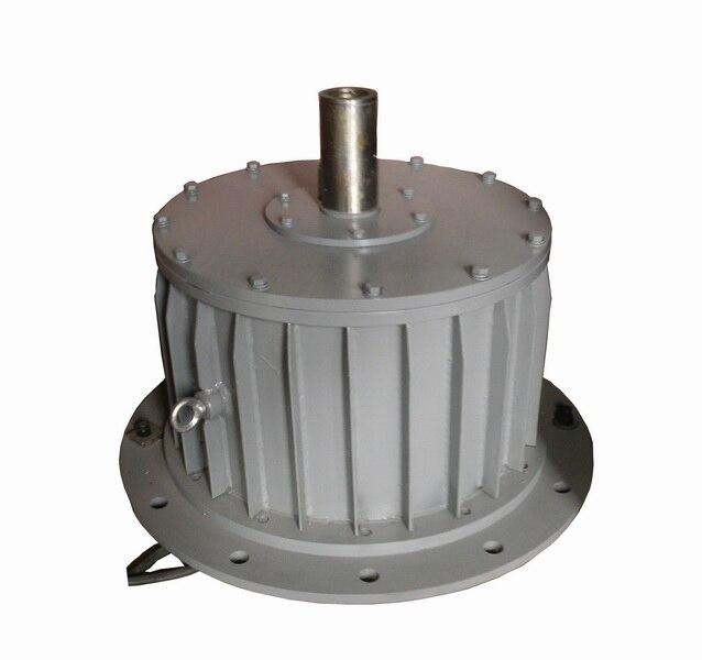 10kw 100rpm 220 v/380 v baja rpm alternador de turbina de viento/Alternador de imán permanente ac
