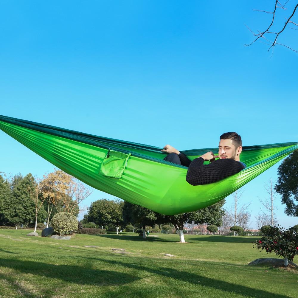 320*200 см ультра-большой 2-3 человек спящий парашют гамак стул гамак сад качели висит открытый хамакас Кемпинг 125*78
