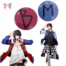 MMGG Halloween Anime División batalla de Rap cosplay ichiro yamada y jiro yamada insignia de cosplay broche