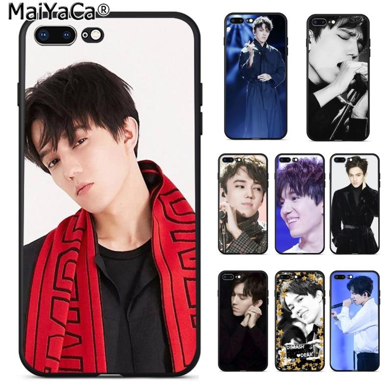 Чехол для телефона MaiYaCa singer Dimash Kudaibergen, чехол для iphone SE 2020, 11 pro, 8, 7, 66S Plus, X, 5S, SE, XS, XR, XS MAX