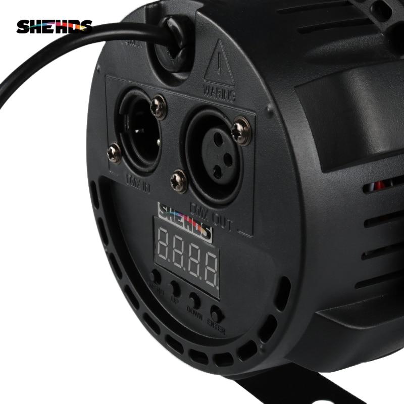 SHEHDS 91 RGB LED DMX Stage Lighting Strobe Lights Disco Party  Club KTV LED Lamp Stroboscope Stage Lighting Effects