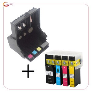 Ink cartridge +Printhead Compatible for Lexmark 100 Series Pro205 Pro208 Pro209 Pro705 Pro708 Pro715 Pro805 Pro901 Pro905 Pro915
