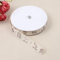polyester ribbon wedding decoration garment accessories ribbon cotton cake gift packaging ribbon gift box packaging decoration