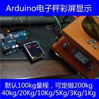 Arduin UNO R3 Electronic Balance Weight Gauge Pressure Sensor Color Screen Display Design Customization