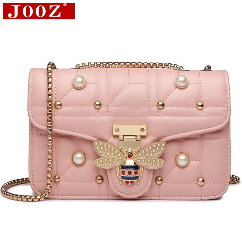 2021 Brands Designer Women Shoulder Bag Chain Strap Flap ladies leather Handbags Messenger Bag Fashion women bee Buckle purse