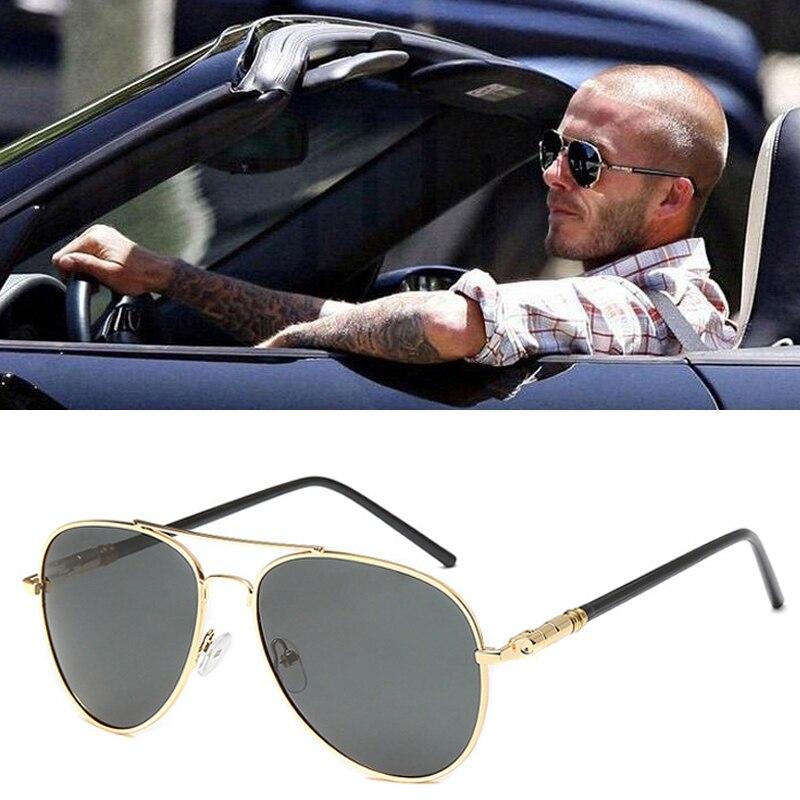 Aviação LVVKEE Metail Quadro Primavera Perna Liga de Alta Qualidade óculos de Sol Dos Homens Polarizados Marca Projeto Piloto do Sexo Masculino óculos de Sol Óculos de Condução