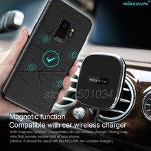 Магнитный чехол NILLKIN для samsung Galaxy S8 S10 Plus, чехол для iPhone SE 2020 XR XS Max 8, подходит для автомобиля Nillkin, беспроводное зарядное устройство