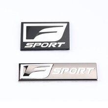 Badge autocollant latéral et arrière de voiture   Symbole 3D F SPORT de voiture, pour Lexus ES GS NX IS universel