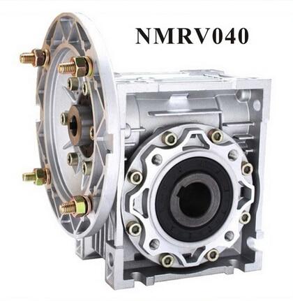 علبة تروس دودية 90 درجة NMRV040 ، قطر فتحة الإدخال 9 مللي متر أو 11 مللي متر أو 14 مللي متر ، قطر الفتحة 18 مللي متر