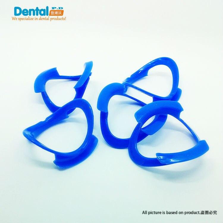 Crazy Sale Blue Dental Teeth Whitening Lip Cheek Retractor& Mouth Opener O-shape