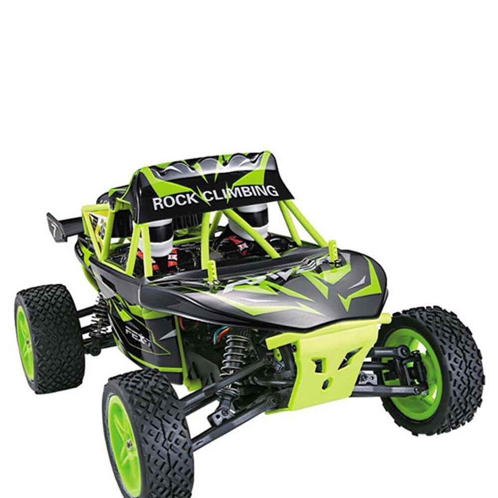 Wltoys K959-A 2,4G de Control remoto de alta velocidad coche 112 eléctrico de dos ruedas de tracción del desierto todoterreno vehículo rc Coche