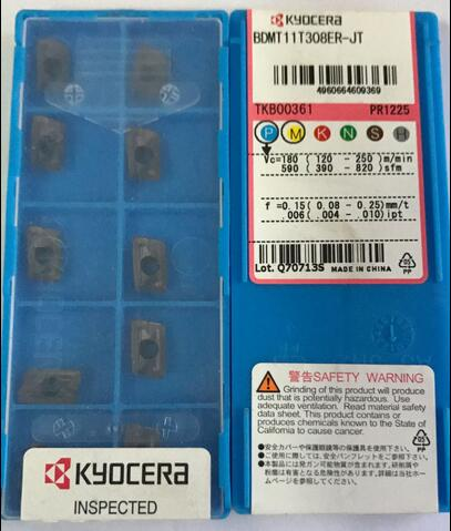 Inserto BDMT11T308ER-JT cortador de fresado PR1225 CNC
