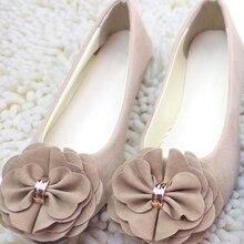 Women Shoes Ballet Flats 2019 Spring Autumn Women Fashion Ballerina Flats Shoes Ladies Sweet Flower Shoes Sapatos Feminino