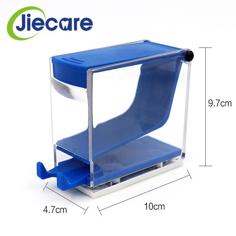 Dispensador de rollos de algodón para dentista ortodóntico, 1 unidad, caja tipo prensa para laboratorio Dental, disponible en 4 colores, envío gratis