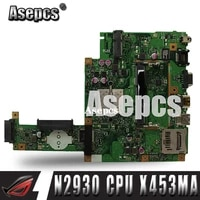 Asepcs X453MA Motherboard N2930 CPU Fur For Asus X453MA X403M F453M Laptop motherboard X453MA Mainboard X453MA Motherboard