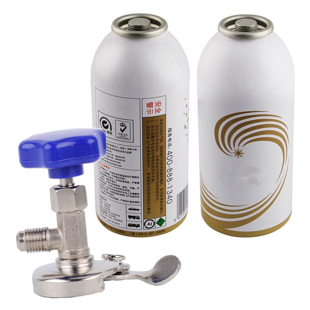 Адаптер, инструмент для всех целей, для автомобиля, прочный кондиционер, медная бутыль, открывалка, аксессуары, можно нажать 337B для R12 R134 хладагента